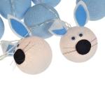 Luminária Decorativa Kit Coelhinho Azul - 220V