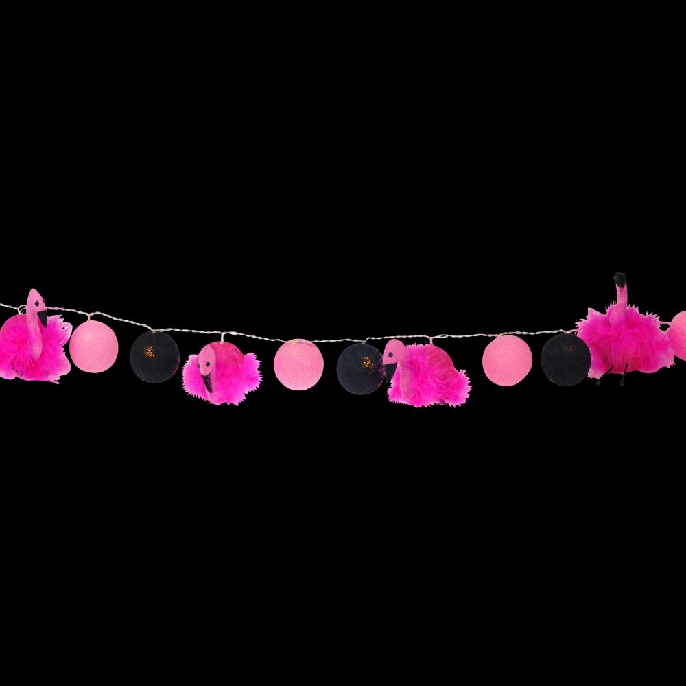 Luminária Decorativa Kit Flamingos - 220V