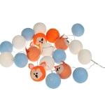 Luminária Decorativa Kit Raposa Laranja - À pilha