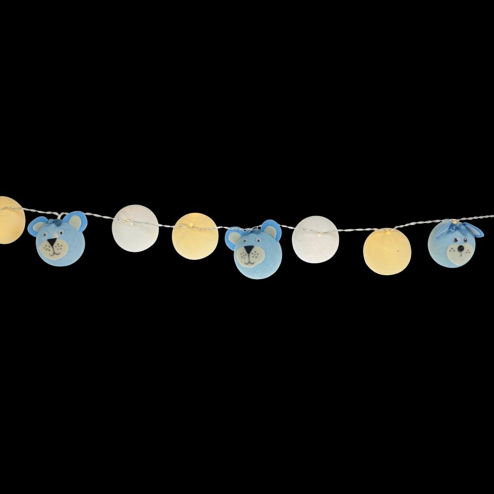 Luminária Decorativa Kit Ursinha Bebê - À pilha