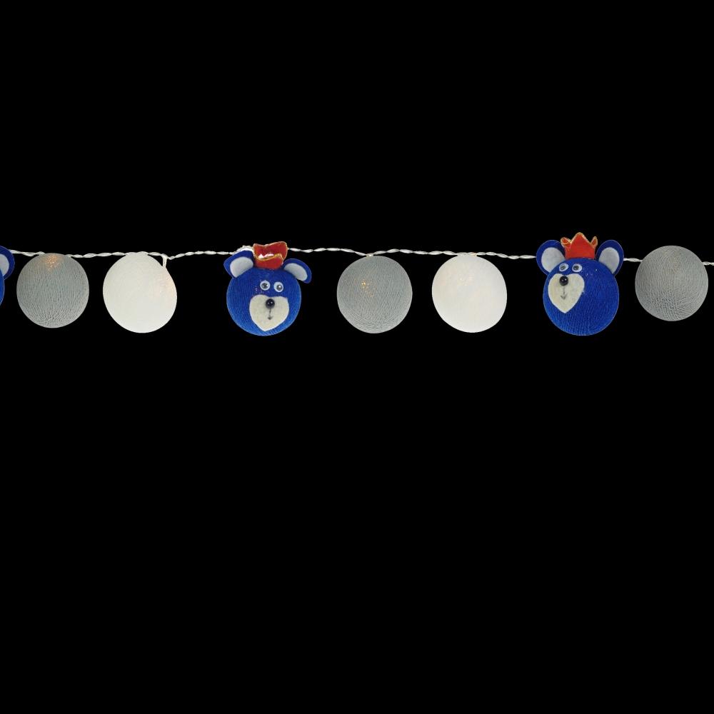 Luminária Decorativa Kit Ursinho Teddy Realeza - À pilha