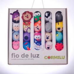 Luminária Decorativa de LED Animais à Pilha
