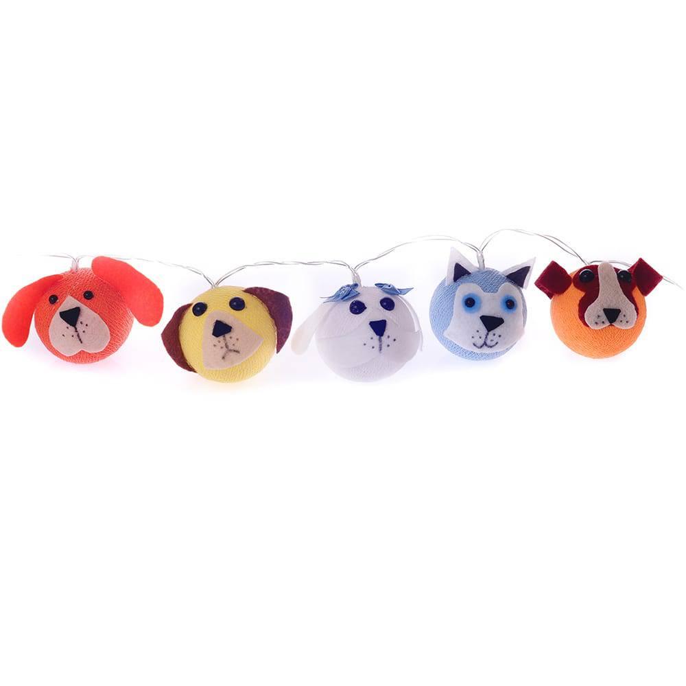 Luminária Decorativa de LED Cães - 220v