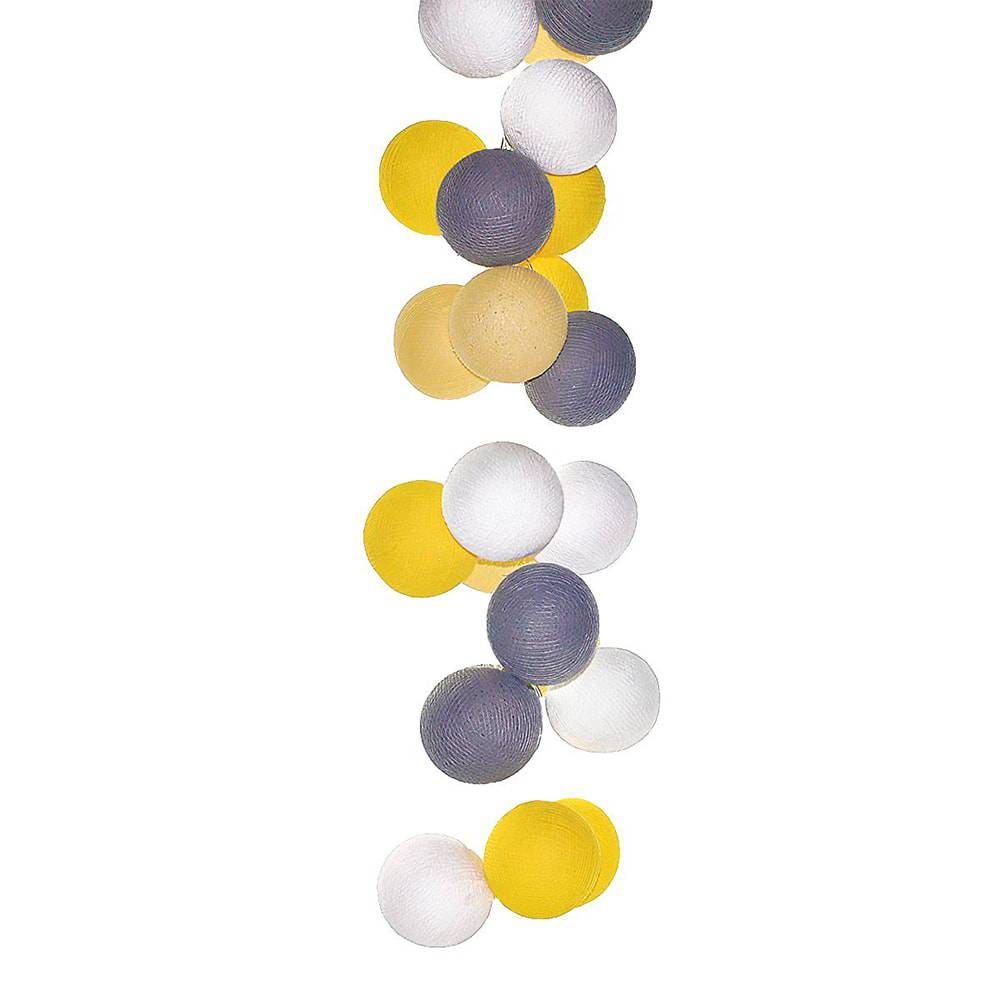 Luminária Decorativa de LED Roma com 35 Bolinhas - 110V