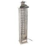 Luminária Lanterna de Mesa Quadrada Fullway - 100x20cm