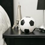 Luminária LED Bola de Futebol em Resina