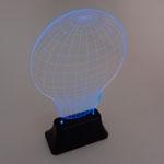Luminária LED Color Lamp em Acrílico