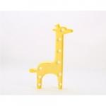 Luminária LED girafa amarela