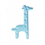 Luminária LED girafa azul