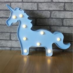 Luminária LED unicórnio azul R$ 98,99 R$ 68,99 1x de R$ 62,09 sem juros