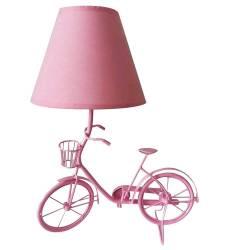 Luminária de Mesa Little Bike Rosa em Metal - Urban R$ 269,90 R$ 189,90 3x de R$ 63,30 sem juros