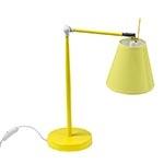 Luminária de Mesa Regulável Amarelo Fullway