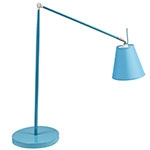 Luminária de Mesa Regulável Longa Azul Fullway - 121x15 cm