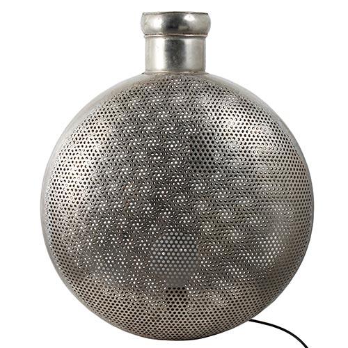 Luminária Retrô tipo Vaso c/ Tela Fullway - 60x54cm