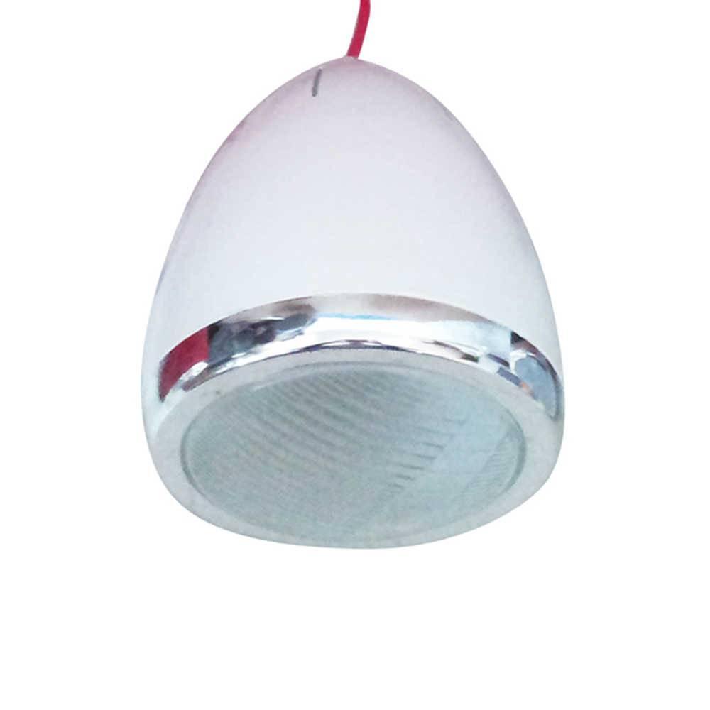 Luminária de Teto Car Front Light Branca em Metal - Urban - 101x17 cm