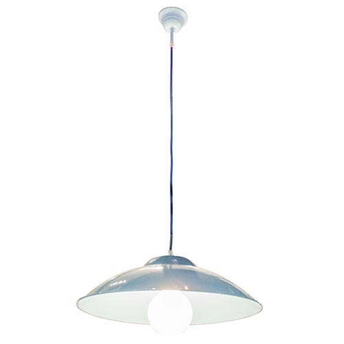 Luminária Tradicional de Teto Azul Fullway - 102x40 cm