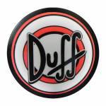 Luminoso Duff Redondo - Bivolt - em Alumínio com LED - 30x4 cm