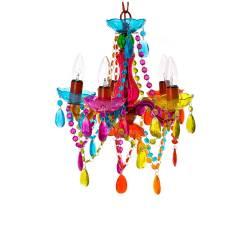 Lustre New Gipsy Small Multicolorido em Acrílico - Urban