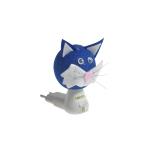 Luz noturna gatinho azul