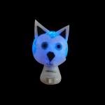 Luz noturna huskie azul