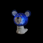 Luz noturna ursinho azul