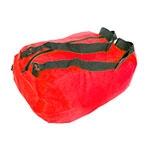 Mala Dobrável Colors Pequena - com Alça - Vermelha em Nylon
