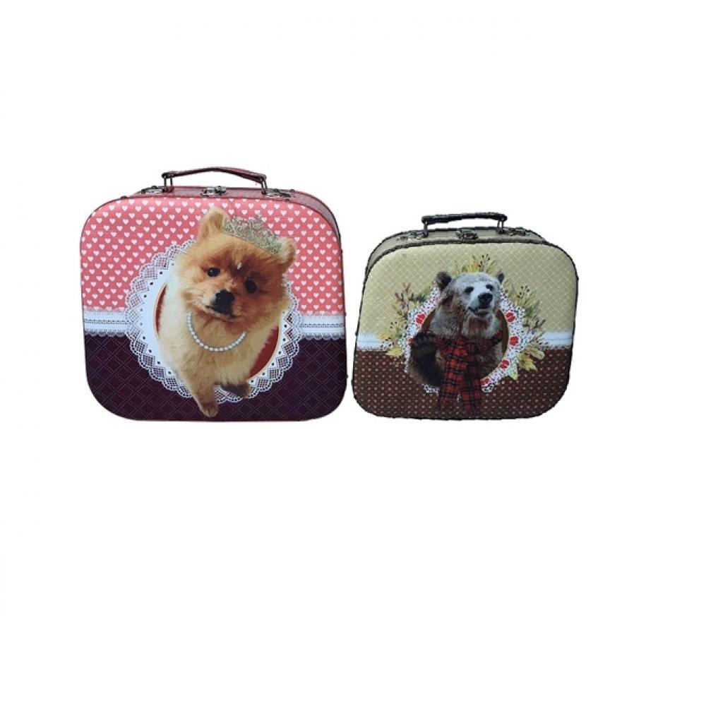 Maletas Pet Pop conjunto com 2