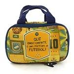 Maletinha Brasil do Futebol - Carpe Diem - Amarelo em Couro
