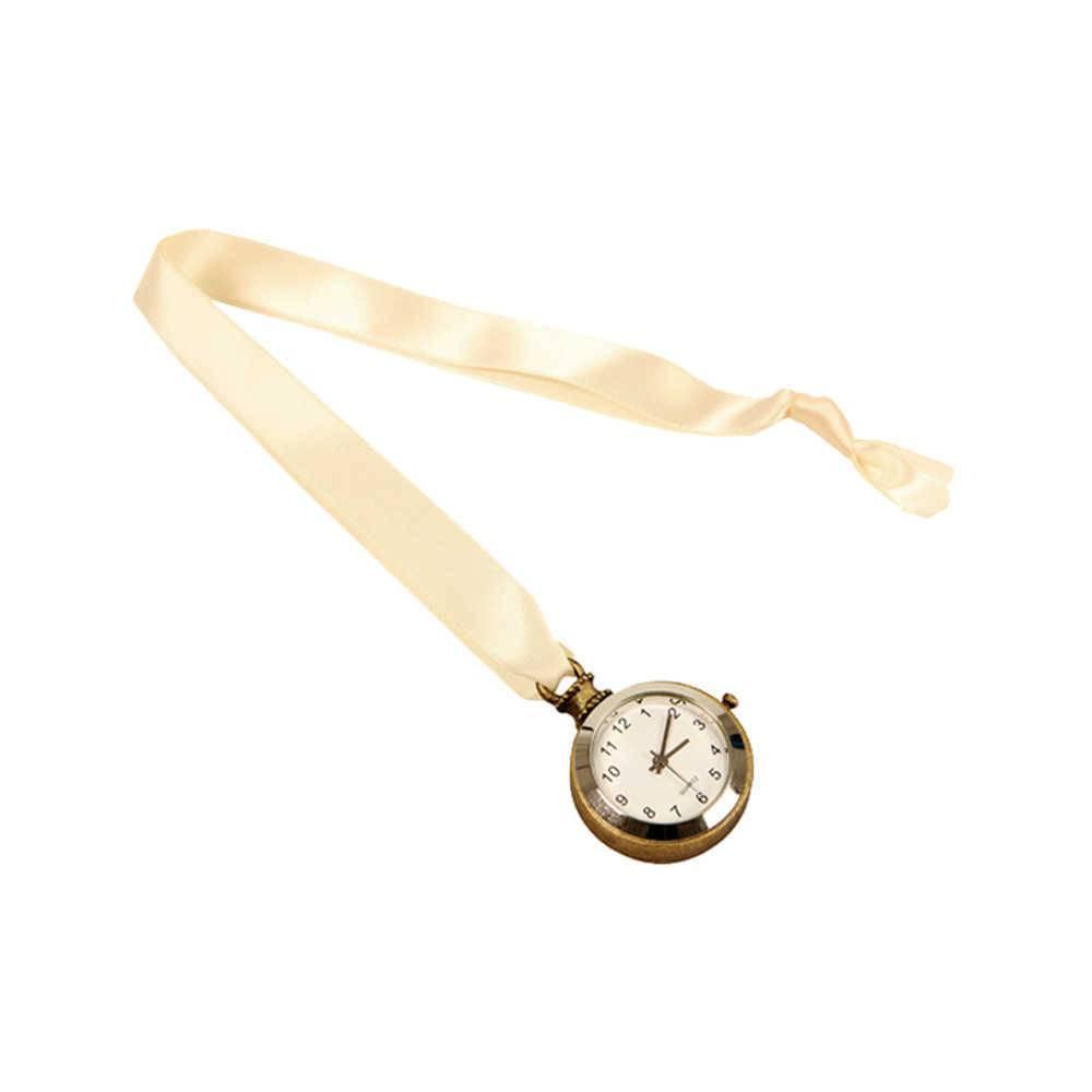Marcador de Página Horloge Fita Amarela com Relógio - 34x4 cm