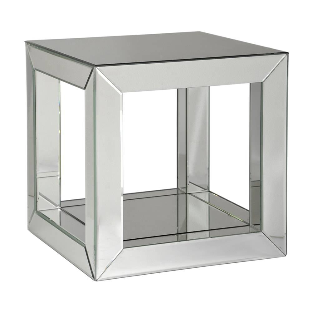 Mesa de Centro Espelhada - 41x41 cm