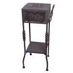 Mesa/Aparador Antique Purple em Metal