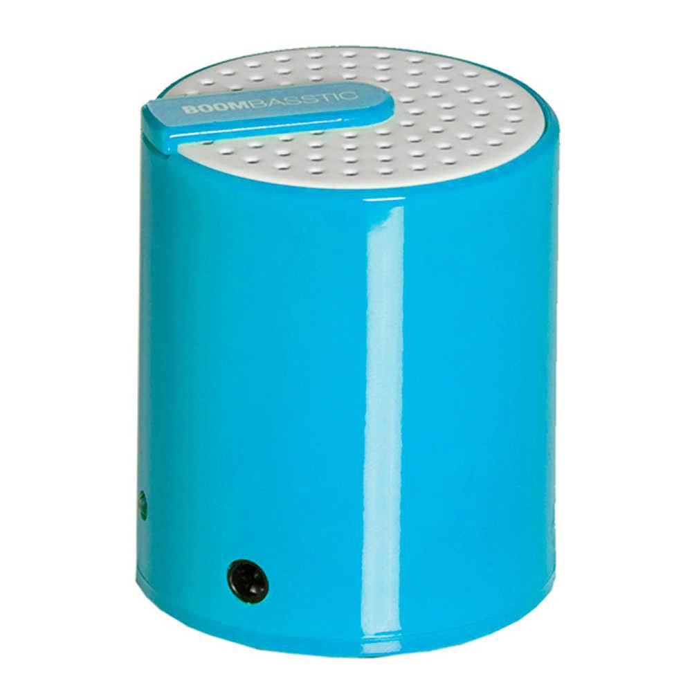 Mini Caixa de Som Boombastic Rainbow Azul - Urban - 9,5x6 cm