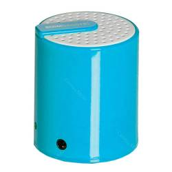 Mini Caixa de Som Boombastic Rainbow Azul - Urban - 9,5x6 cm R$ 25,80 R$ 16,80 1x de R$ 15,12 sem juros