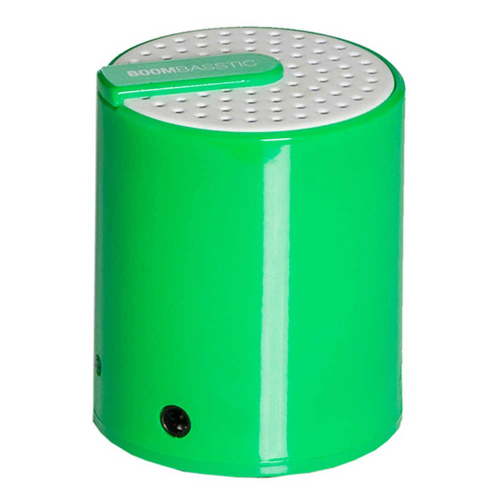 Mini Caixa de Som Boombastic Rainbow Verde - Urban - 9,5x6 cm