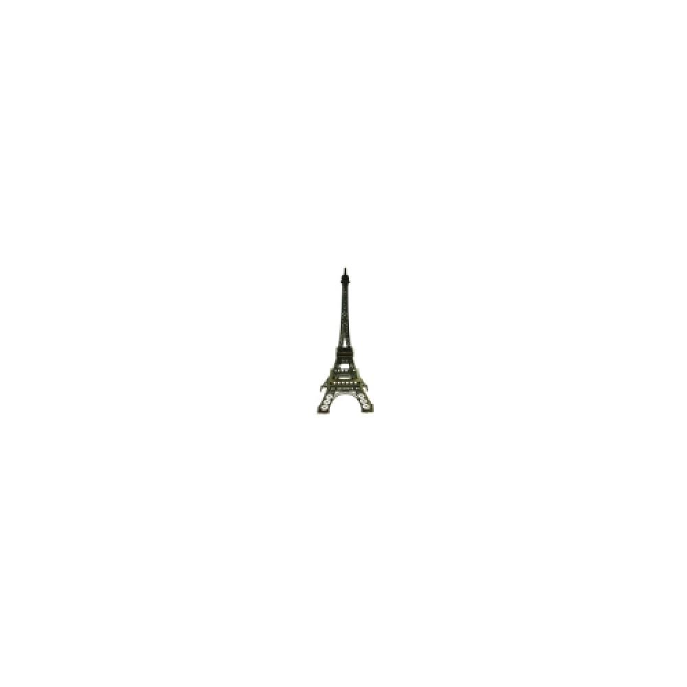 Mini Torre Eiffel em Metal - 10x4 cm