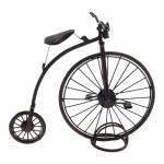 Miniatura de Bicicleta Antiga Grand Bi Preta em Metal