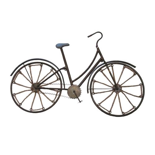 Miniatura de Bicicleta Aramada em Metal - 72x47,5 cm