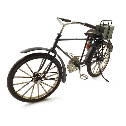 Miniatura de Bicicleta com Bóia e Porta Medicamentos Oldway - Metal 31x17cm