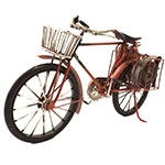 Miniatura de Bicicleta de Bombeiros