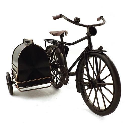 Miniatura de Bicicleta com Cachorreira Oldway - Alforges - 29x17cm