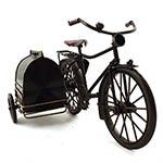 Miniatura de Bicicleta com Cachorreira Oldway