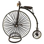Miniatura de Bicicleta Anos1870