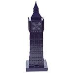 Miniatura Big Ben Dark Blue em Resina - 31x6 cm