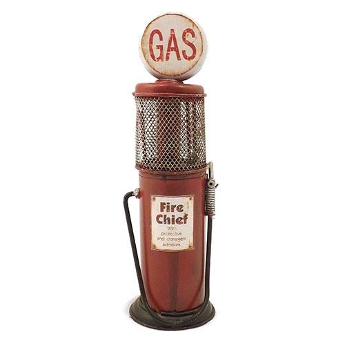 Miniatura de Bomba de Gás / Fire Chief - Em Metal - 6x18 cm