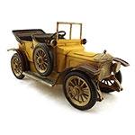 Miniatura de Calhambeque Amarelo Conversível Oldway