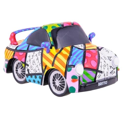 Miniatura Carro Esportivo - Romero Britto - em Resina - 15x9 cm