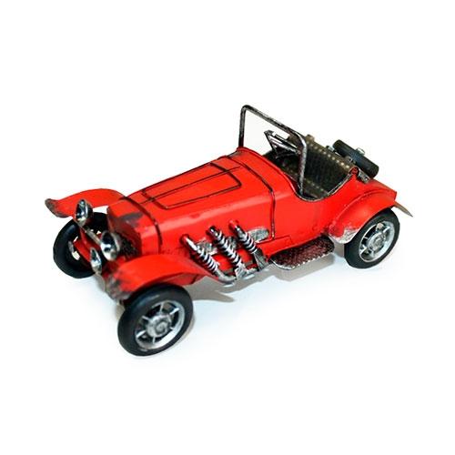 Miniatura Carro Vermelho c/ Step em Metal - 18x8 cm