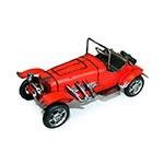 Miniatura Carro Vermelho c/ Step em Metal
