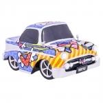 Miniatura Carro Vintage - Romero Britto - em Resina - 15x10 cm