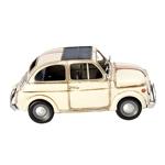 Miniatura Fiat 500 Branco Oldway